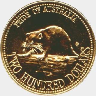 1994  Two Hundred Dollar reverse