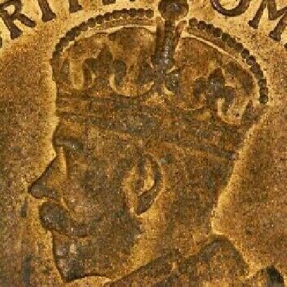 Soft band on the obverse of a 1911 penny