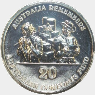 2014 Comforts Fund Twenty Cent reverse