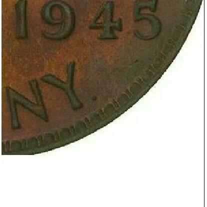 Dot Mintmark on 1945-Y Penny