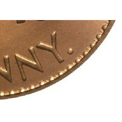The Y dot mintmark employed by the Perth mint.
