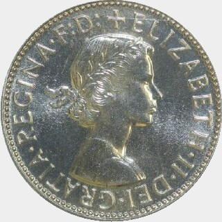 1956 Proof Florin obverse