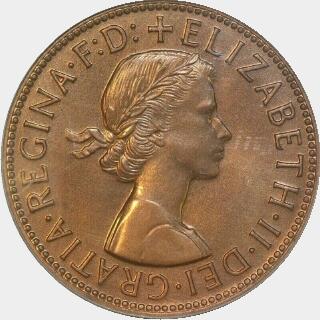 1956 Specimen Penny obverse