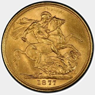 1877-M Narrow Truncation Long Tail Full Sovereign reverse