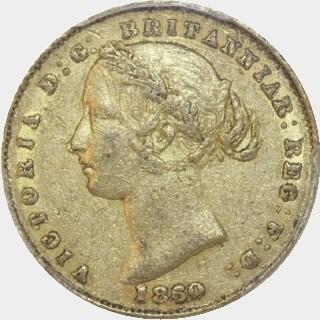 1860  Full Sovereign obverse