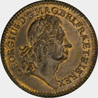 1723  Twopence obverse