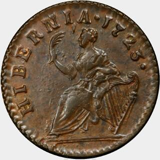 1723  Farthing reverse