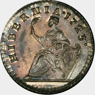 1723  Half Penny reverse