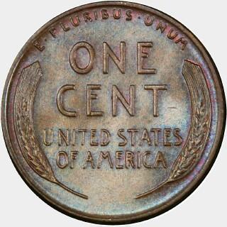 1955  Cent reverse