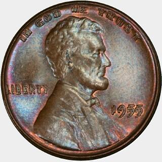 1955  Cent obverse