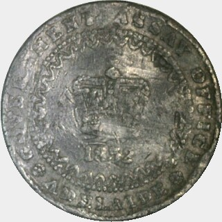 1852 Trial in Lead Adelaide Pound obverse