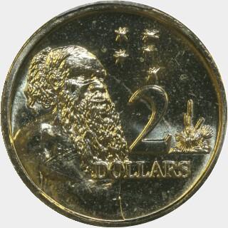 2016  Two Dollar reverse