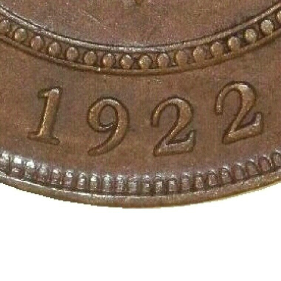 Reverse shows slightly wider date