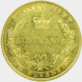 1859  Full Sovereign reverse