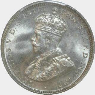 1935  Shilling obverse