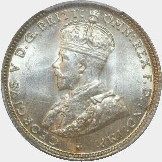 1913  Shilling obverse