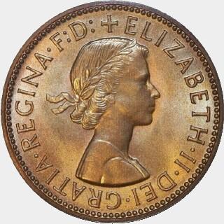 1963-Y Proof Half Penny obverse