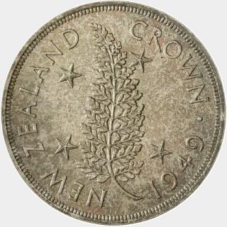 1949 Proof Crown reverse