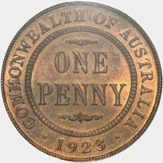 1923  Penny reverse