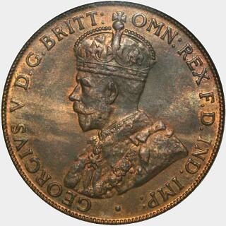 1923  Penny obverse