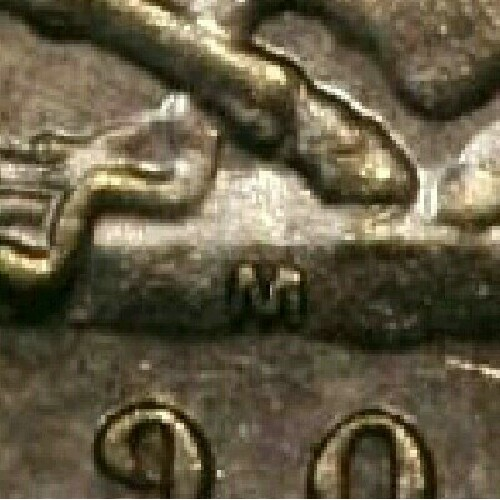 Reverse: Melbourne Mint 'M' mintmark on the centre of the ground, below the horses hooves and above the date.