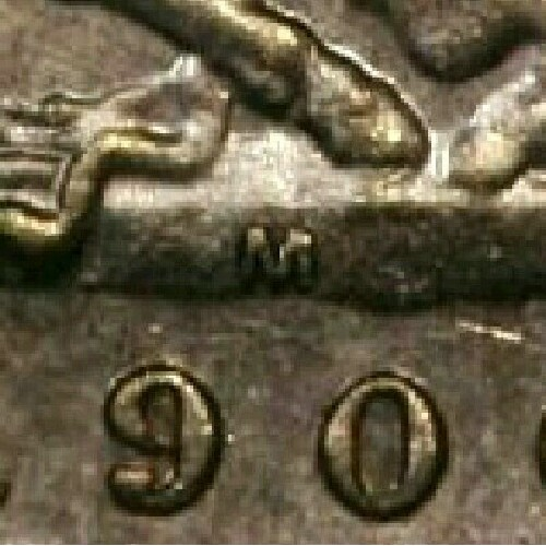 Reverse: Melbourne Mint 'M' mintmark on the centre of the ground, below the horse's hooves and above the date.