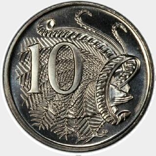2010  Ten Cent reverse