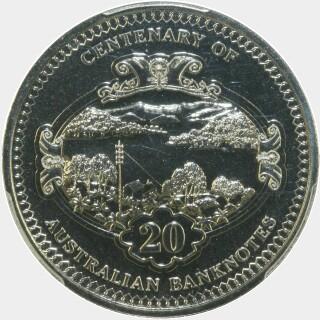 2013  Twenty Cent reverse