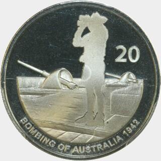 2012  Twenty Cent reverse