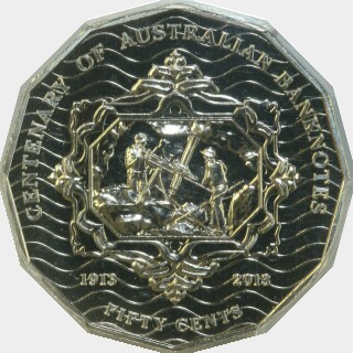 2013  Fifty Cent reverse