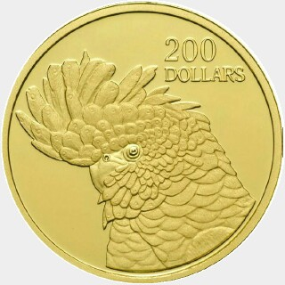 2006 Proof Two Hundred Dollar reverse