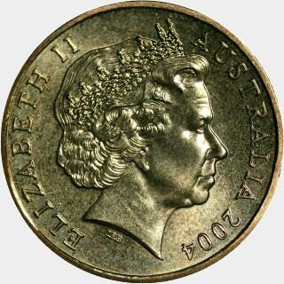 2004  One Dollar obverse