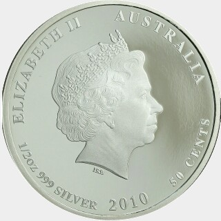 2010-P Proof Silver Fifty Cent obverse