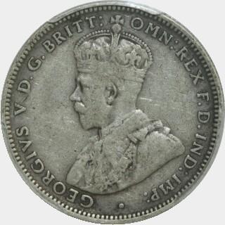 1922  Shilling obverse