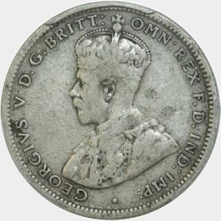 1924  Shilling obverse