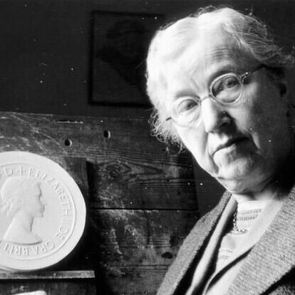Mary Gillick - Sculptor of the first effigy of HM Queen Elizabeth II.