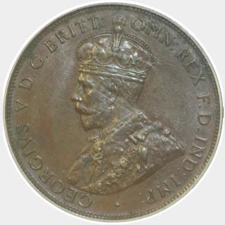 1925  Penny obverse