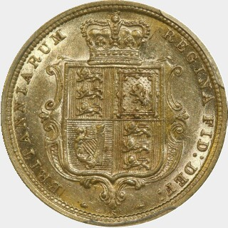 1886-S  Half Sovereign reverse