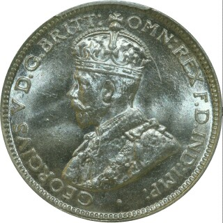 1934  Sixpence obverse