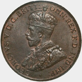 1927  Penny obverse