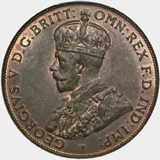 1932  Penny obverse