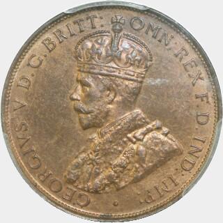 1935  Penny obverse