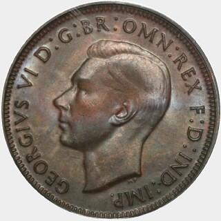 1946-Y  Half Penny obverse