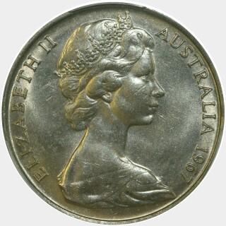 1967  Twenty Cent obverse