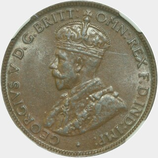 1928  Half Penny obverse