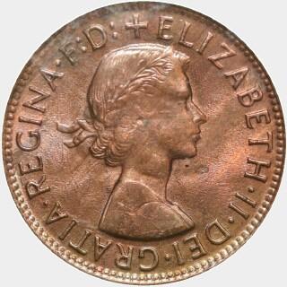 1955-Y  Penny obverse