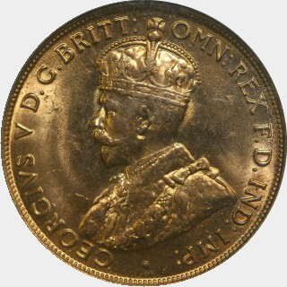 1911  Penny obverse