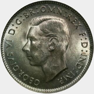 1943  Shilling obverse