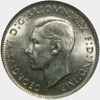 1944  Shilling obverse