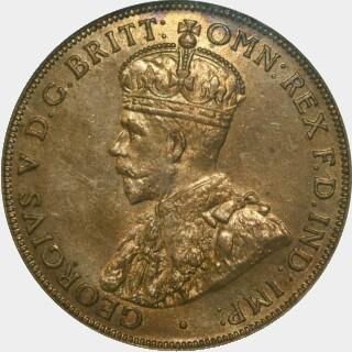 1917-I  Penny obverse